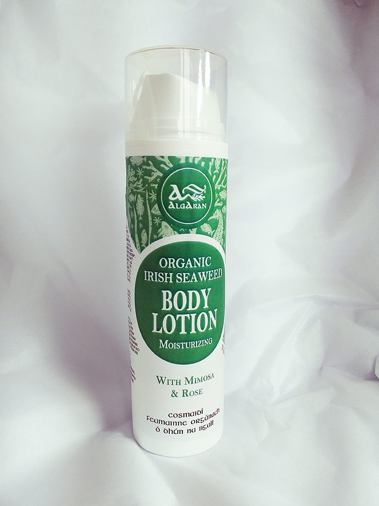 Organic irish seaweed body lotion